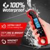 Термометр супер быстрый LoveGrill водонепроницаемый, -50°С до +300°С , красный фото_3