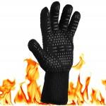 Жаропрочная перчатка для гриля LoveGrill, черная