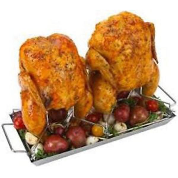 Ростер для курицы двойной Grill Pro