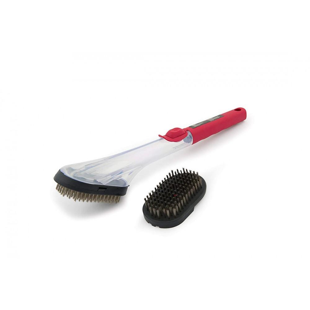 Щетка для гриля с силиконовой ручкой Grill Pro